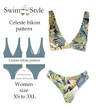 Bikini Patterns Magnificent Decorating Design