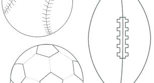 Sports Coloring Sheets Printable Pages College Football Logo Free