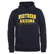 york university hoodie. northern arizona lumberjacks everyday pullover hoodie - navy york university