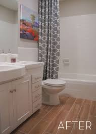 bathroom tile refinishing. Before And After: Refinished Tile Bathroom Makeover Refinishing F