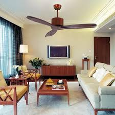 3 wooden blades 48inch fan no lights