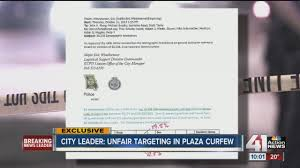 City Leader Says Group Of Teens Unfairly Targeted In Plaza Curfew Arrests