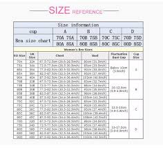 Size Chart For Strapless Bras Vietees Shop Online