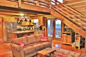 Log Cabin Living Room Concept Simple Decorating Design