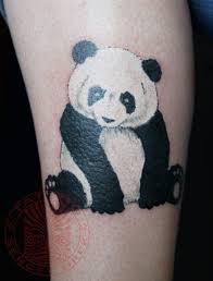татуировки мультяшная панда
