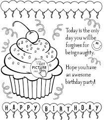 Birthday Cake With Candles Coloring Pages Elegant Birthday Cake