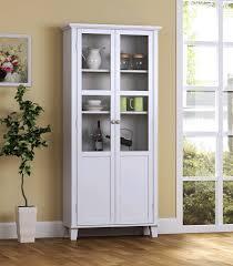Tall Narrow Kitchen Hutch Sideboard Furniture Blue Kitchen Hutch