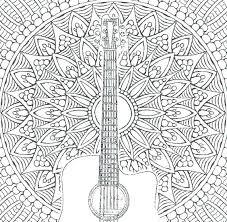 Music Coloring Sheets Fashionadvisorinfo