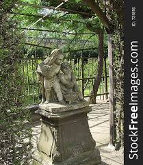 angels in the garden free stock