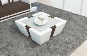 cushioned coffee table. 40 Most Prime Square Storage Ottoman Black Leather Coffee Table Cushioned Cocktail