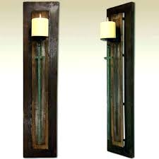 western wall sconces candle wall decor sconces candle wall decor amazing rustic wall candle sconces metal