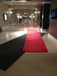 red carpet roll. roll out the red carpet for vip\u0027s like hollywood