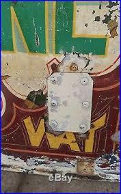 vintage fairground sign enamel sign sign wall art pub themed sign collectors ta on vintage enamel wall art with vintage fairground sign enamel sign sign wall art pub themed sign