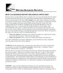 Short Business Report Sample Business Report Template Examples Moontex Co