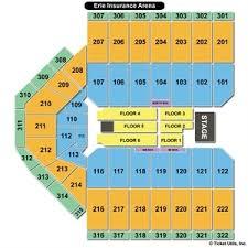 Erie Tullio Arena Seating Chart Erie Insurance Arena Seating Seven Ingenious Ways