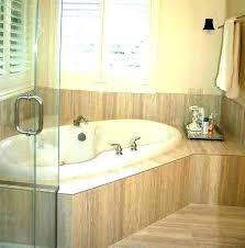 garden tub bathroom typical dimensions