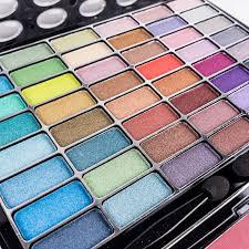 girls makeup kit. glamour girl makeup kit eye shadow/blush/powder - vintage set girls