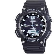 casio men s solar sport combination watch black walmart com casio men s solar sport combination watch black