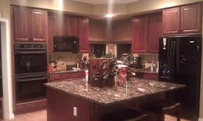 image of best kitchen paint colors with maple cabinets