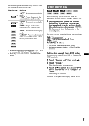 sony xav 63 operating instructions page 15 type your new search above