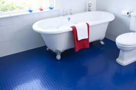 one of the big advantages of rubber bathroom flooring is the way it feels