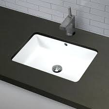 undermount bathroom sink round. Undermount Bathroom Sinks Classically Redefined Ceramic Rectangular Sink With Overflow Round Faucet Holes M