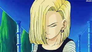 android 18 gif