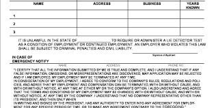 Document Template : Job Employment Application Free Printable ...