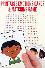 Inside Out Feelings Chart Printable Printable Emotions Cards With Emotions Games Ideas