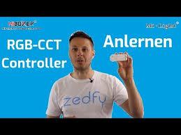 <b>Milight RGB CCT</b> Controller anlernen [DEUTSCH] - YouTube