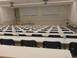 תמונות של כיתות בחינה פסיכומטרית - אוניברסיטת בן גוריון - בניין 35 - חדר 1  - הכנה לפסיכומטרי