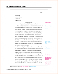 Mla Style Paper Template Essay Sample June Words Research