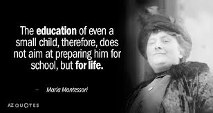 Maria Montessori Quotes 40 Best Maria Montessori Quote The Education Of Even A Small Child