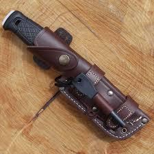 mora knife tbs firesteel combo with tbs leather sheath