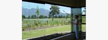 frameless folding doors frameless glass bifolding door