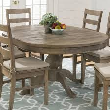 rustic oval dining table