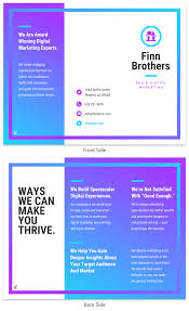 marketing slick template 35 marketing brochure examples tips and templates venngage
