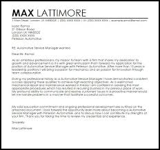Automotive Service Manager Resume Automotive Service Director Cover Letter Styles Auto Manager Resume