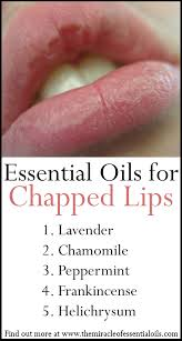 healing essential oils for chapped lips
