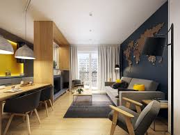 picture of studio apartment interior design for men