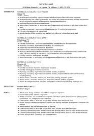 Stop Resume Examples Material Handling Tech Resume Samples Velvet Jobs 14