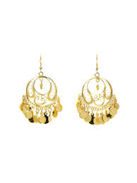 <b>Серьги</b> Бохо золото EA0025 Indira 3011152 в интернет-магазине ...