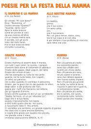 50 Poesie per la Festa della Mamma per Bambini | Festa della mamma,  Filastrocche festa, Mamma