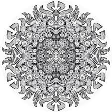 Printable Mandala Coloring Pages Advanced Level Printable Free ...