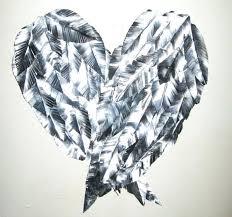 wings wall art metal angel wings wall art