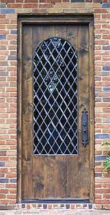 leaded glass wood front entry doors