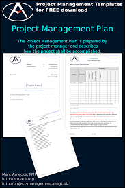 Project Management Plan Template Free Download Download Free Project Management Plan Template Pmbok And More