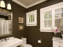 Gold Paint Color With White And Seafoam Tile Bathroom Ideas Small Brown Bathroom Color Ideas