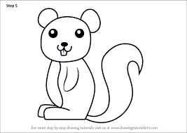 squirrel for kids. Signup For Free Weekly Drawing Tutorials Intended Squirrel Kids