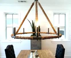 beach house chandelier a rustic makeover the